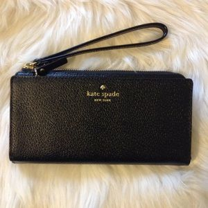 ♠️kate spade Grand Street Layton Wallet Wristlet